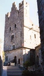 Отвесная внутренняя стена башни Трезор