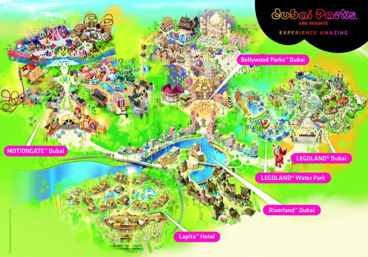 Dubai Parks and Resorts – ваше захватывающее приключение в Дубае!