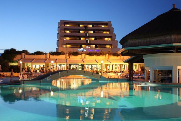 Парк бассейнов Savoy Beach Hotel