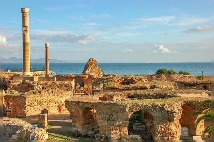 Римские бани Антония Пияв Карфагене