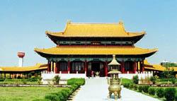 Буддийский китайский храм в Лумбиди