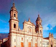 Фасад Главного Храма Колумбии, на площади Боливар (Богота)