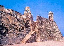 Крепость Сан Фелипе де Барахас, Картахена де Индиас
