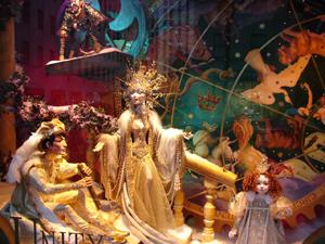 Витрины магазинов на Рождество, Нью Йорк, American Best Getaways Inc.