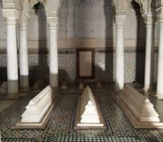 Могилы святых, которые входят в список обязательных для посещения мест в Марракеше