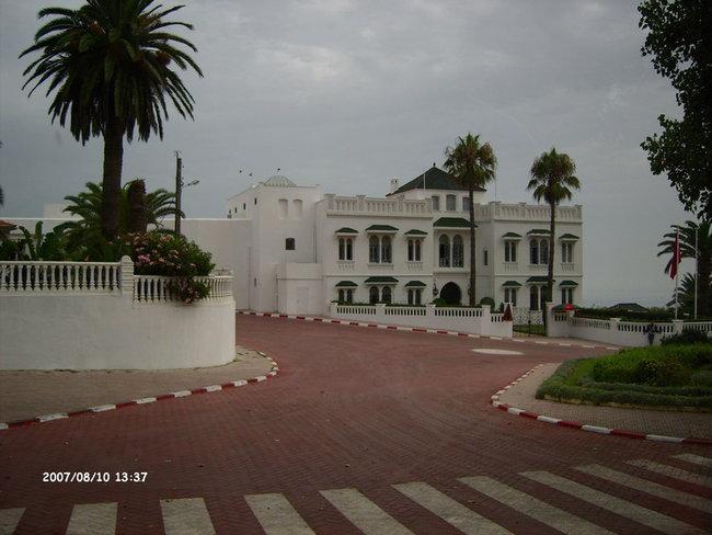 Резиденция короля Марокко в Танжере