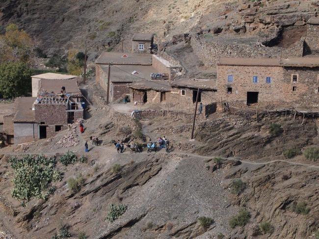 Поселение в горах