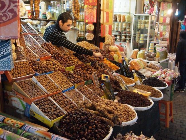 Торговые улицы Медины