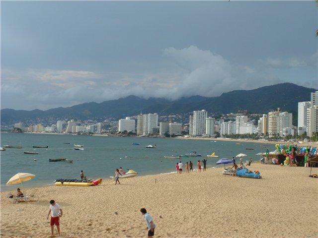 пляж Hyatt Regency Acapulco