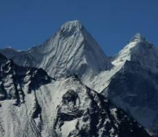 Гималаи на пути к Эвересту.