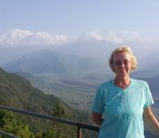 Вид на Аннапурну с Сарангкота