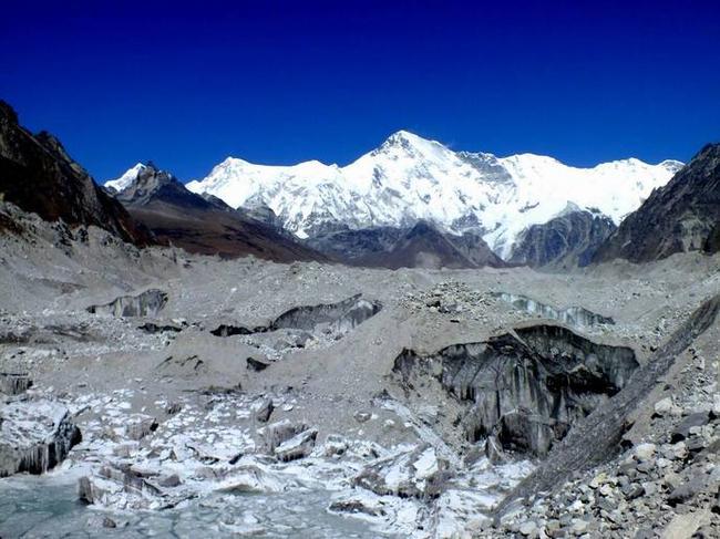 Чо Ойю и ледник Нгозумба