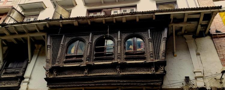 Ажурный балкон