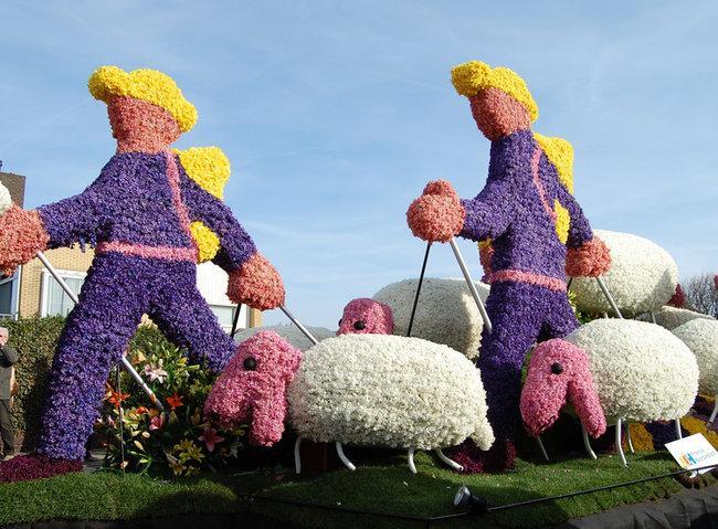 Английские пастухи овец