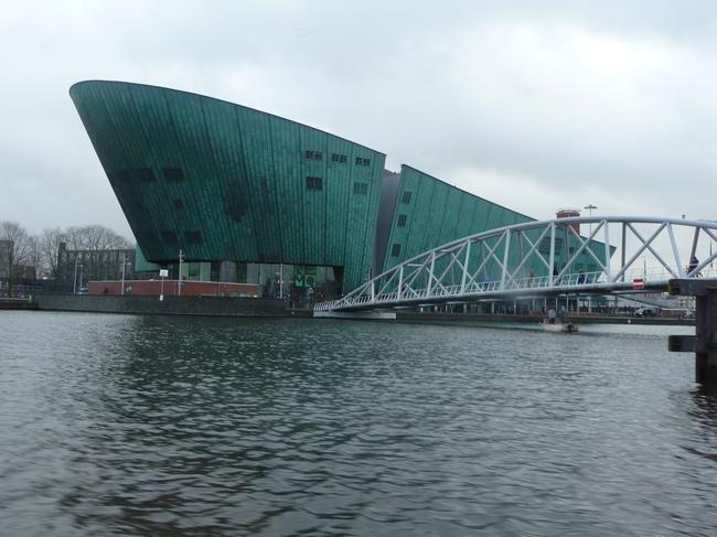 Амстердам, музей Немо