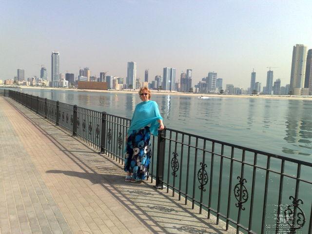 Один из новых районов Дубая