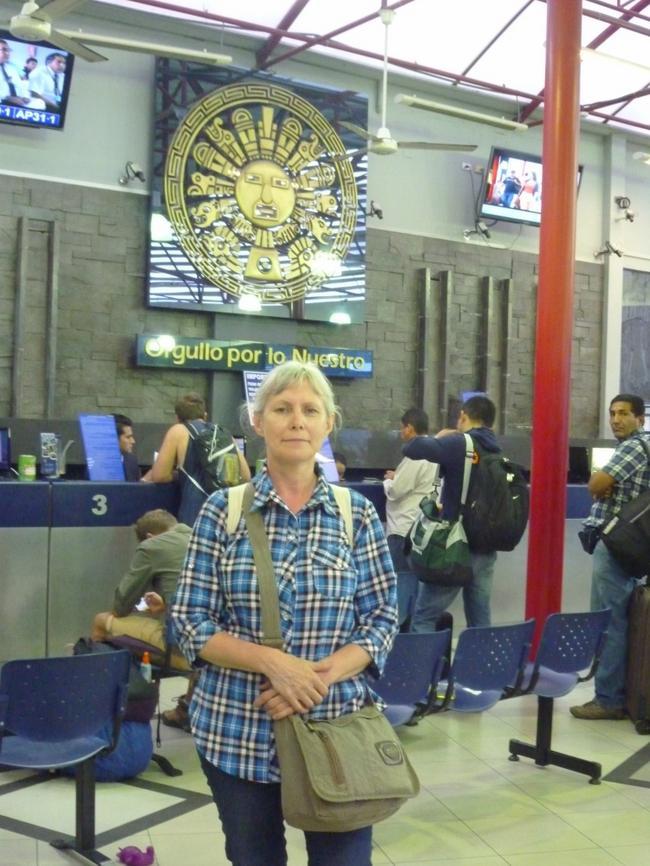 терминал Cruz del Sur В Лиме