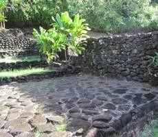 Алтарь жертвоприношения в глубине Таити
