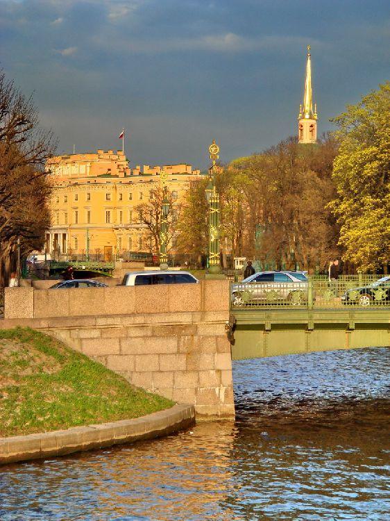 2-й Садовый мост и Инженерный замок