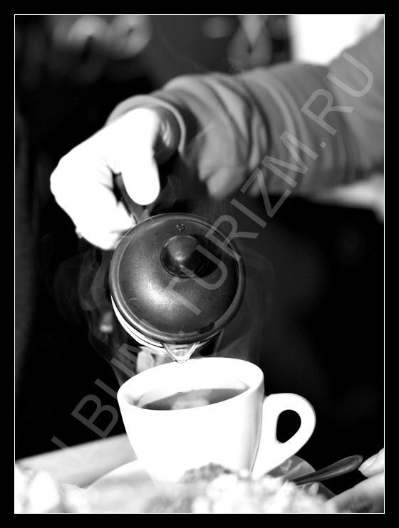 в кофейне на Васе
