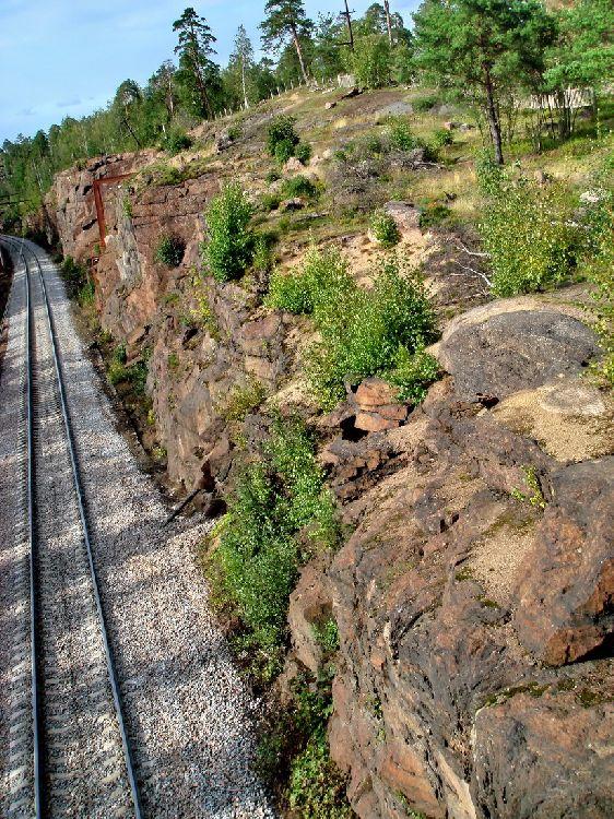 Железная дорога в Финляндию...