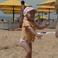 Маша танцует на Золотом пляже