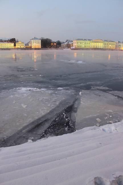 Исаакий зимой картинки