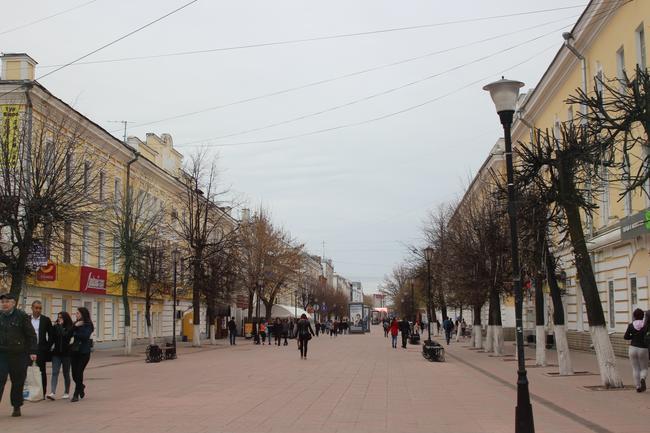 Пешеходная улица Трехсвятская