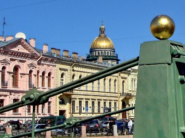 Вид с Почтамтского моста