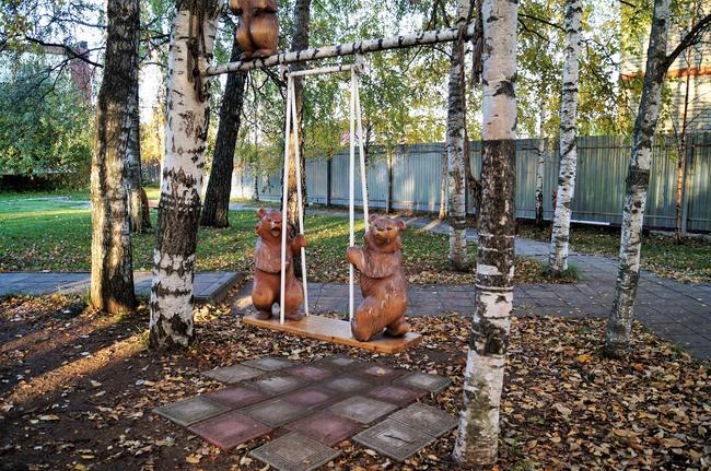 село Богородское. Фабрика игрушки