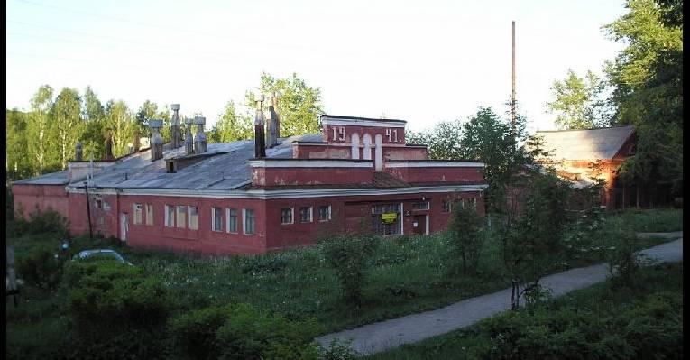 Культовое строене - баня,  постороено в 1941 году
