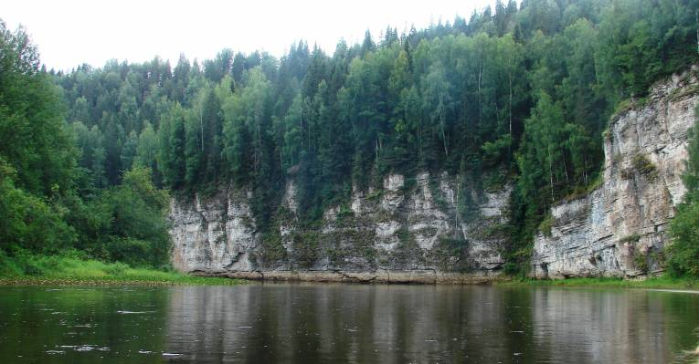 Вид на Омутной камень