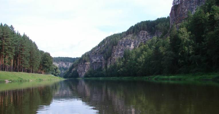 Сикияз-Тамак с реки