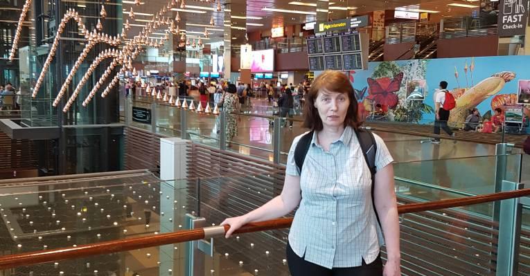В Аэропорту Чанги