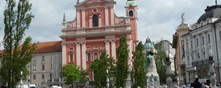 Францисканская церковь, Любляна
