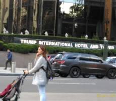 Trump International Hotel and Tower поместился частями