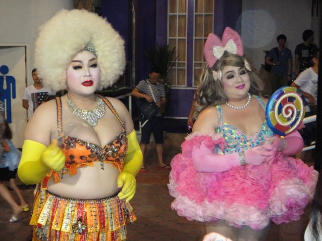 Таиланд секс представления