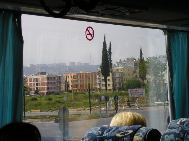 Анталия из автобуса