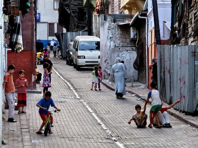 Дети в районе Зейрек