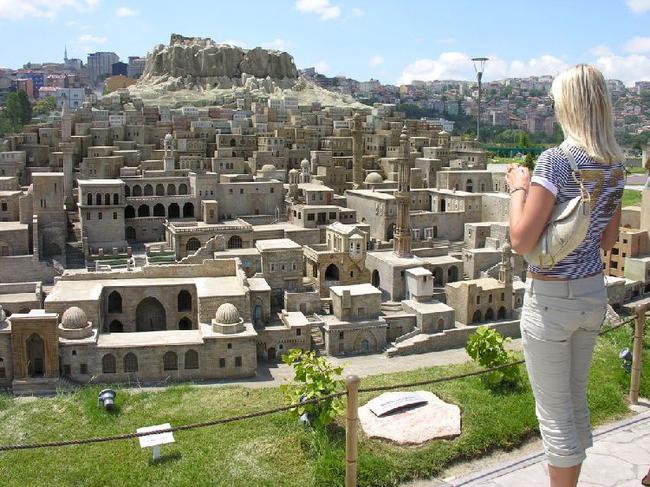 Древний город  в горах
