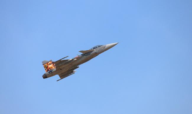 Истребитель Saab JAS 39 Gripen