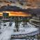 Вид на Припять с крыши гостиницы Полесье