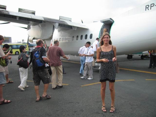letim na ostrov Boracay