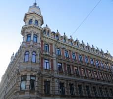 Здания в центре города