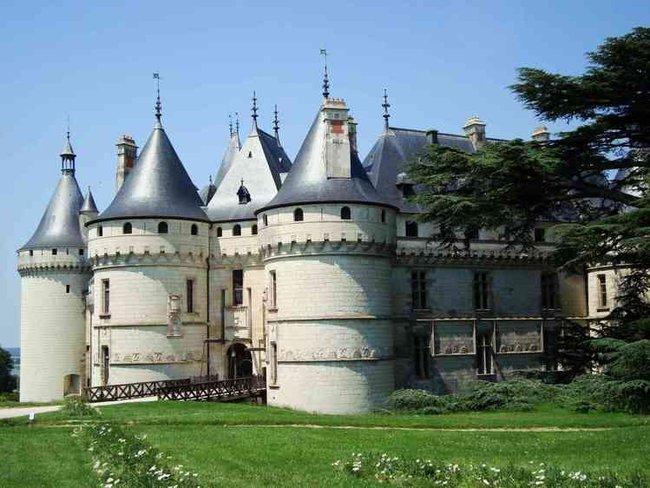Замок Chaumont-Sur-Loire