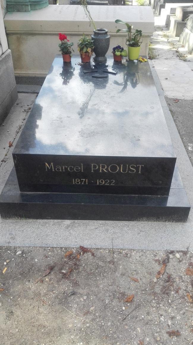 Могила Марселя Пруста