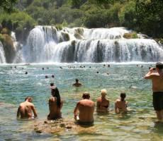 Водопады Крки