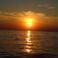 Закат на хорватской Адриатике