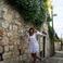 На улицах Дубровника (по пути к крепости)