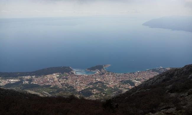 Вид с горы Биоково